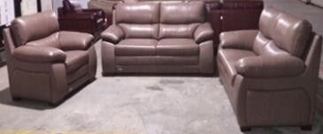 Hotel Family Comfortable Leather Reclining Sectional Sofa With Chaise